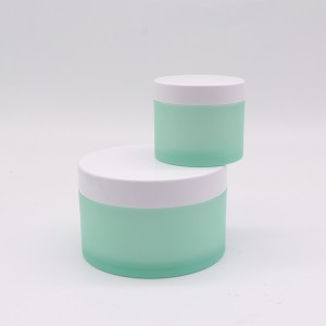 50ml 100ml 240ml Refillable Round Double Wall Cream Jar