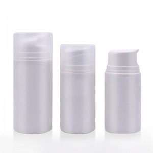 PCR Airless Pump Bottle with Optional Function Pump Head
