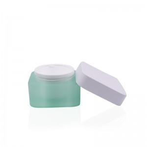 5g 15g 30g 50g Double Wall Square Cream Jar