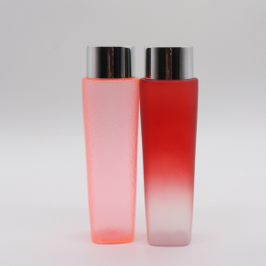 New Patent Colorful Water Ripple Square Round Fine Mist Toner Bottle