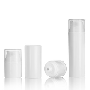 Skincare cream airless bottle cosmetic packaging container