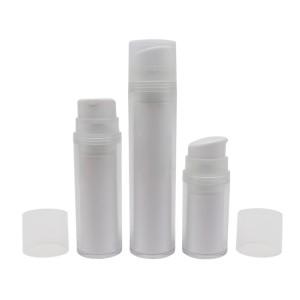 Refillable Airless Pump Bottle, Replaceble PCR Lotion Pump Bottle
