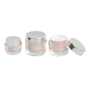 Luxury cosmetic jar small cream jars with lids