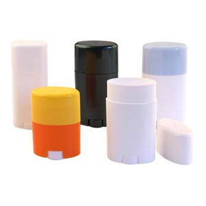 Twist Up Deodorant Stick Container, Twist Up Sunscreen Stick Container