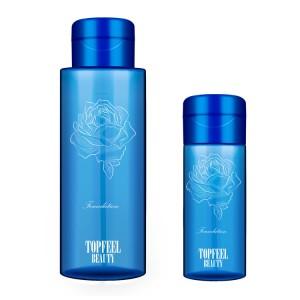 150ml 500ml PET Cleansing Oil Bottle Empty Plastic Makeup Facial Remover Bottle with Press Pump