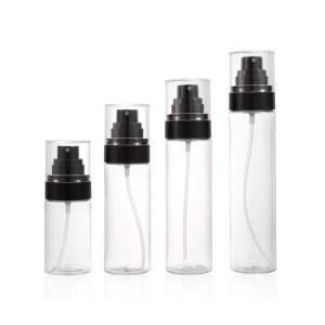 Fine Mist Setting Spray Pump Bottle with Over Cap