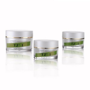 Acrylic Empty Double Wall Cream Jar Eco Friendly Cosmetic Packaging Container
