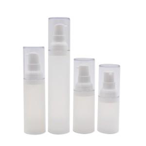 15ml 20ml 30ml 50ml Recycled Matte PP Airless Bottle