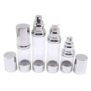 15ml 30ml 40ml 50ml Classic Round Airless Bottle