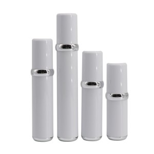 Wholesale skincare airless pump bottle 10ml 15ml 20ml 30ml container sets