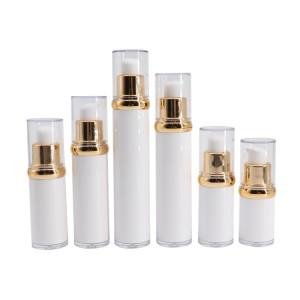 Cosmetic PETG Plastic Cream Airless Pump Bottle 10ml 15ml 20ml 30ml 40ml 50ml