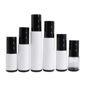 Custom Design 10ml 15ml 20ml 30ml 40ml 50ml Cosmetic Vacuum Airless Pump Bottle