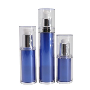 Eco-friendly 20 ml 30 ml 50 ml Double Wall AS PETG Airless Pump Cosmetic Bottle
