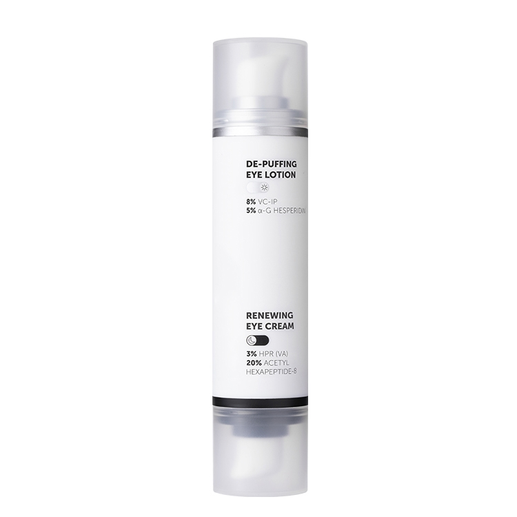 Dual Solution Empty Airless Bottle for Eye Cream Featured Image
