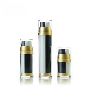 Acrylic Dual Chamber Cosmetic Lotion Pump Bottle 30ml 50ml 100ml